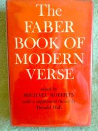 image of The Faber Book of Modern Verse