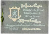 30. Bundesturnfest des Nordamerikanischen Turnerbundes, Cincinnati, Ohio. 23., 24,. 25., 26. und 27 Juni 1909 (Uebungen fuer das Vereins- und Massenturnen; ebenfalls: Vorlaeufige Bestimmungen)
