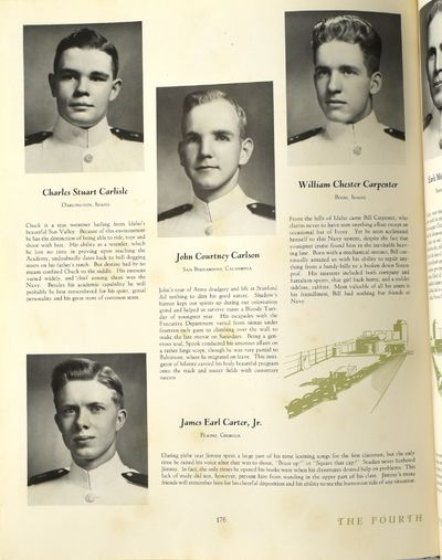 Anapolis, MD: The United States Naval Academy, 1947. Hard Cover. Very Good binding. Illustrated; Jim...
