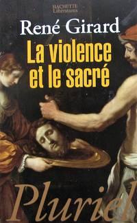 image of La violence et le sacré