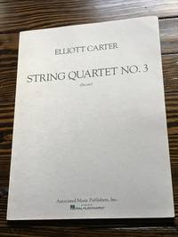 String Quartet No. 3 (1971): Study Score