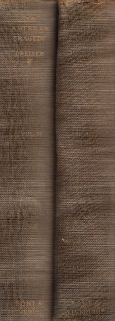 New York: Boni & Liveright. Good with no dust jacket. 1925. First Edition. Hardcover. Grey cloth boa...