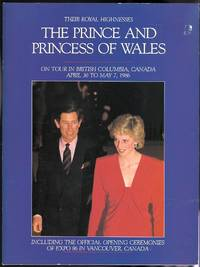 image of THEIR ROYAL HIGHNESSES THE PRINCE AND PRINCESS OF WALES ON TOUR IN THE CANADIAN CITIES OF VICTORIA, NANAIMO, VANCOUVER, KELOWNA, KAMLOOPS AND PRINCE GEORGE IN THE PROVINCE OF BRITISH COLUMBIA.  APRIL 30 TO MAY 7, 1986.