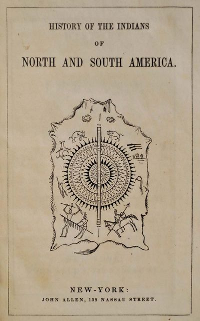 New York, NY: John Allen, 1844. Book. Very good- condition. Hardcover. First Edition. 12mo - over 6�...