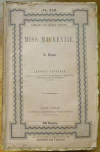 image of MISS MACKENZIE. A Novel