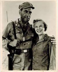 "Humphrey Bogart, June Allyson, Keenan Wynn in ""Battle Circus."" 3 vintage photographs"