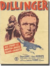 image of Dillinger (Original program for the 1945 film)