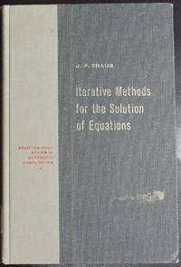 Iterative Methods for the Solution of Equations