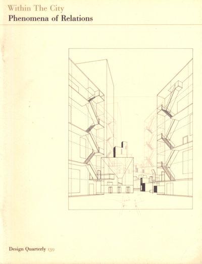 Minnaepolis: Walker Art Center, 1988. Paperback. Very good. Wraps rubbed, else very good.