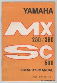 YAMAHA MX 250/360. SC500 Owner's Manual