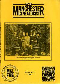 image of The Manchester Genealogist Vol 34 No 1