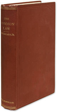 The Common Law, First Edition, Boston, 1881