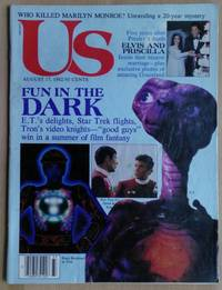 Us Magazine, August 17, 1982 E.T, Star Trek, and Tron