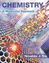 image of Chemistry: A Molecular Approach (4th Edition)