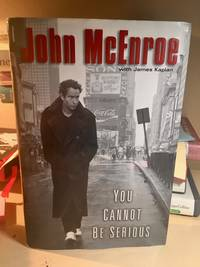 You Cannot Be Serious by John McEnroe - Signed First Edition - from IMAG!NE (SKU: 871138744)