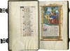 View Image 1 of 4 for BOOK OF HOURS (Use of Rome), illuminated manuscript on parchment in Latin and French Inventory #BOH 160