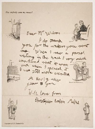 Autograph Letter hand-written by A A...