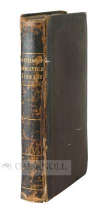 CATALOGUE OF THE MERCANTILE LIBRARY COMPANY OF PHILADELPHIA.|A