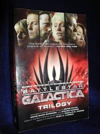 image of Battlestar Galactica Trilogy: The Cyclons' Secret, Sagittarius is Bleeding, Unity