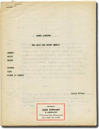 image of Inner Sanctum: The Dead Are Never Lonely (Original script for the 1950 radio episode)