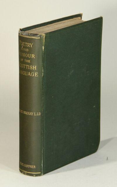 Paisley, Scotland: Alexander Gardner, 1882. First edition, 8vo, pp. vii, , 522, ; original green clo...