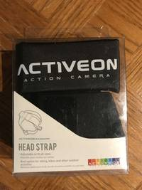Activeon Head Strap Mount Black with Storage Bag - AM02A