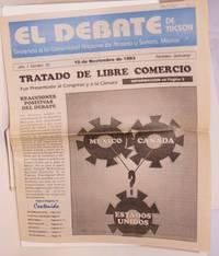 El Debate de Tucson: sirviendo a la comunidad Hispaña de Arizona y Sonora, México; año 1, número 20, 10 de Noviembre de 1993