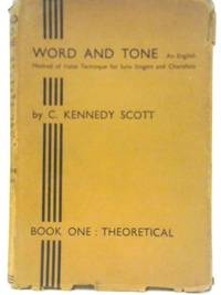 Word and Tone Book I