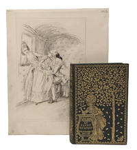 Evelina, or The History of a Young Lady's Entrance into the World; with: original pen-and-ink illustration by Hugh Thomson