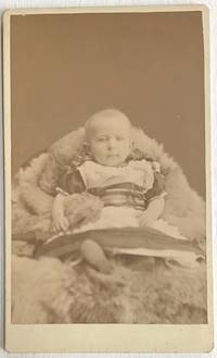 [Photographic card of a European baby, with text on reverse: \