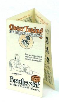image of Bradleystat - Closer Tuning with Perfect Filament Control [.Double-sided Three-Panel Advertising Brochure]