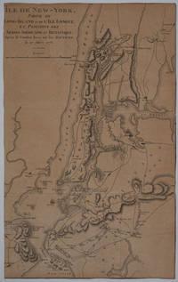 image of Île de New-York, partie de Long-Island ou de l'Île Longue et positions des armées américaine et britannique après le combat livré sur les hauteurs, le 27 Août, 1776. Revolutionary War map
