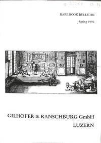 Rare book bulletin no nr./ Spring 1994: Varia