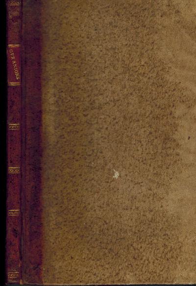 Paris, 1815. Half Calf. Very Good. 8vo(20.6 x 12.7 cm). Contemporary half calf over tan speckled mar...