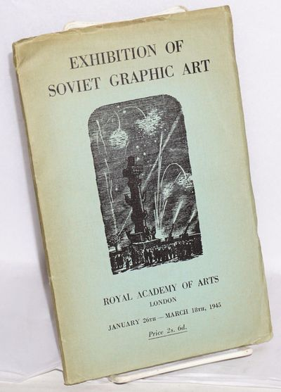 London: Royal Academy of Arts, 1945. Paperback. 32p. and 20 b&w plates, foreword by Prof. A.A. Sidor...