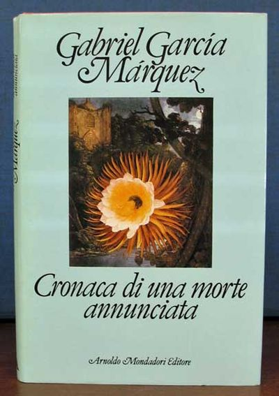 (n. p.): Arnoldo Mondadori Editore, 1982. 1st edition in Italian. Red cloth binding with gilt stampe...