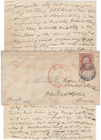 A signed letter (ALS) from Horace Greeley to the most prominent Friend of the Mormons inquiring about his health and relating the latest news of the Greeley family