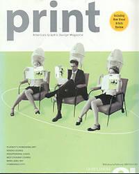 Print: America's Graphic Design Magazine Vol 54 No. 1 by Print Editorial Staff - Paperback - 2000 - from Glaeve Art & Books and Biblio.com