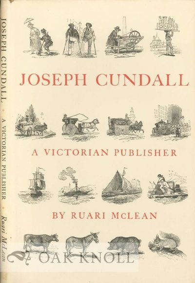 Dollar, Scotland: Ruari McLean Assoc, 1976. cloth, dust jacket. Cundall, Joseph. small 4to. cloth, d...