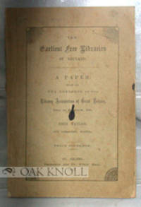 EARLIEST FREE LIBRARIES OF ENGLAND.|THE