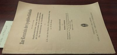 Dresden: Verlag von Theodor Steinkopff. First Edition. Softcover. 8vo, paged -138, illustrated, tabl...