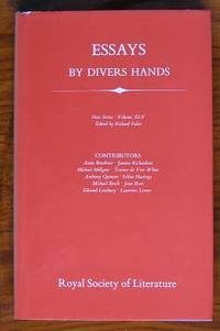 Essays By Divers Hands: being the transactions of the Royal Society of  Literature New Series XLV  Vol 45.