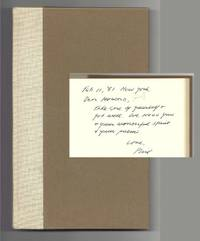 ASHES. POEMS NEW & OLD. Inscribed