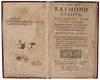 View Image 3 of 4 for LULL'S ART EXPLAINED TO LAWYERS L'Art de Raymond Lullius esclaircy par Julius Pacius... divisé ... Inventory #2936
