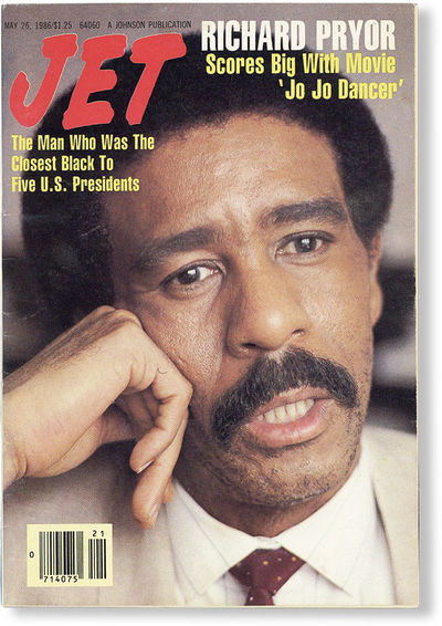 New York: Johnson Publications, Inc, 1986. Single digest-sized issue of the long-running magazine of...