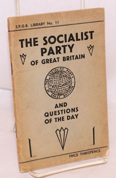 London: The Party, 1932. 79p., edgeworn wraps, spine beginning to separate from staples.