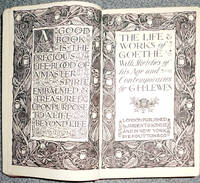 The Life & Works Of Goethe with Sketches of His Age and Contemporaries (Everyman Library)