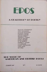 EPOS A Quarterly of Poetry Summer 1965