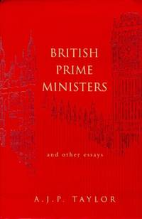 image of British Prime Ministers And Other Essays (Allen Lane History S.)