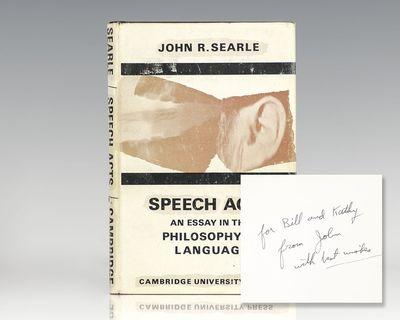 Cambridge: Cambridge University Press, 1969. First edition of
